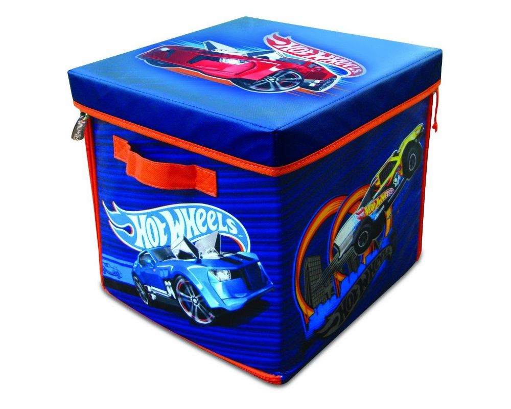 Zipbin Neat Oh Hot Wheels 300 Car Storage Toy Cube Box
